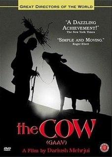 <i>The Cow</i> (1969 film) 1969 film by Dariush Mehrjui