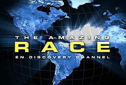 The Amazing Race en Discovery Channel logo
