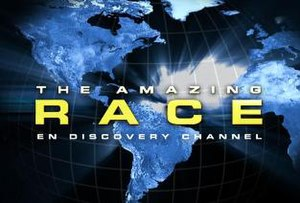 The Amazing Race en Discovery Channel 1 - Image: The Amazing Race on Discovery Channel logo