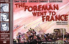The Foreman Went to France UK poster.jpg