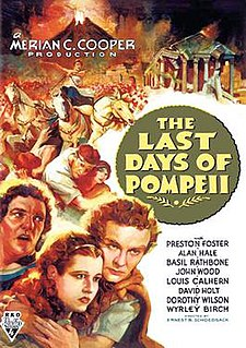 <i>The Last Days of Pompeii</i> (1935 film) 1935 film by Merian C. Cooper, Ernest B. Schoedsack