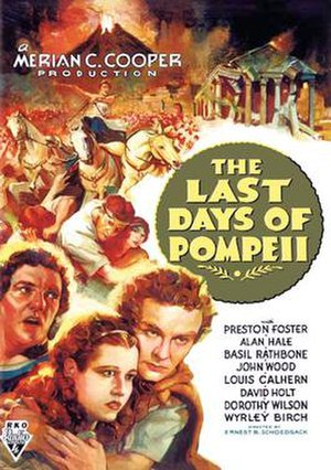 The Last Days of Pompeii (1935 film) - 1935 US Theatrical Poster