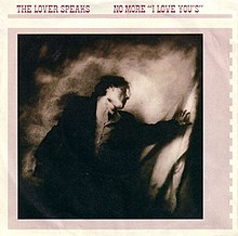 The Lover Speaks No More I Love Yous single cover.jpg