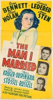 <i>The Man I Married</i>