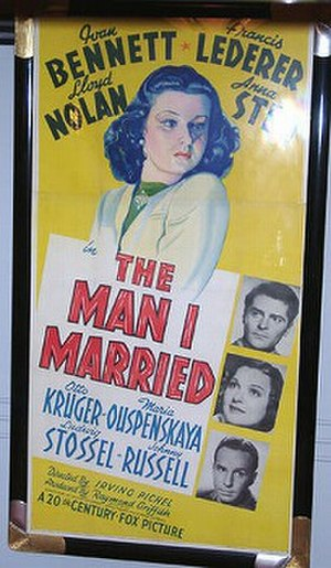 The Man I Married - Image: The Man I Married