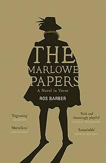 <i>The Marlowe Papers</i> 2012 novel by Roe Barber