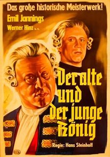 <i>The Old and the Young King</i> 1935 film by Hans Steinhoff