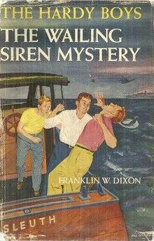 The Wailing Siren Mystery (The Hardy Boys, No. 30) (NoDust)