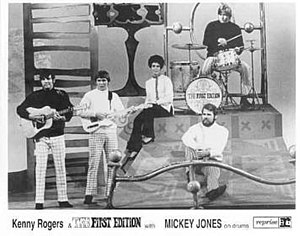 Kenny Rogers and The First Edition - Promotional photo of Kenny Rogers and The First Edition in early 1968