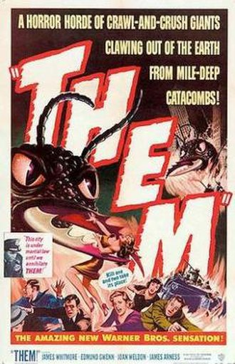 Them! (1954 film) - Theatrical release poster