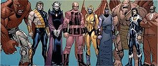 Deviant (comics) Fictional comic book race of humanoids