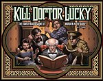 Kill Doctor Lucky box cover from Titanic Games