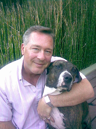 Todd Hughes - Todd Hughes, with company mascot Butchie
