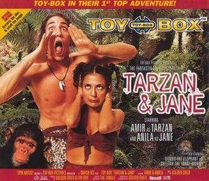 Tarzan & Jane (song) - Image: Toy Box Tarzan Jane single