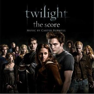 Twilight (soundtrack) - Image: Twilight score