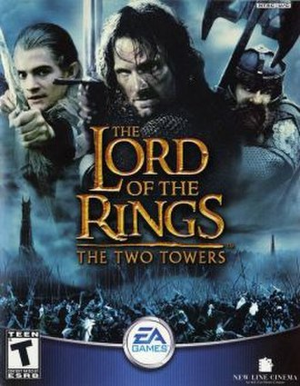 The Lord of the Rings: The Two Towers (video game) - Image: Twotowersbox 1