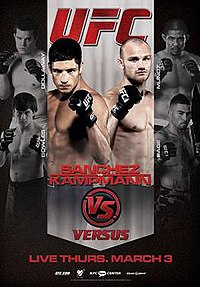 A poster or logo for UFC Live: Sanchez vs. Kampmann.