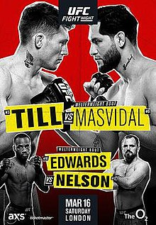 Ufc Fight Night Till Vs Masvidal Wikipedia
