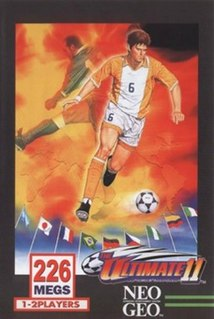 <i>The Ultimate 11: SNK Football Championship</i> 1996 soccer arcade video game