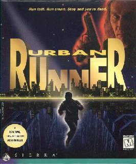 <i>Urban Runner</i> computer game developed by Coktel Vision and published by Sierra On-line