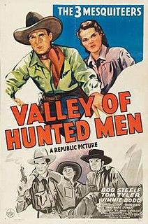 <i>Valley of Hunted Men</i> 1942 film by John English