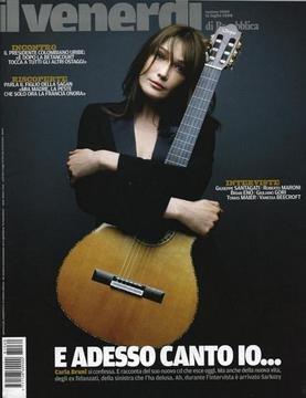 Venerdì - Cover Carla Bruni