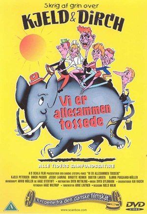 Vi er allesammen tossede - DVD cover