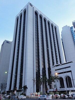 Pacific Star Building - The Pacific Star Building in 2015