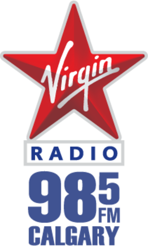 CIBK-FM - Image: Virgin calgary new