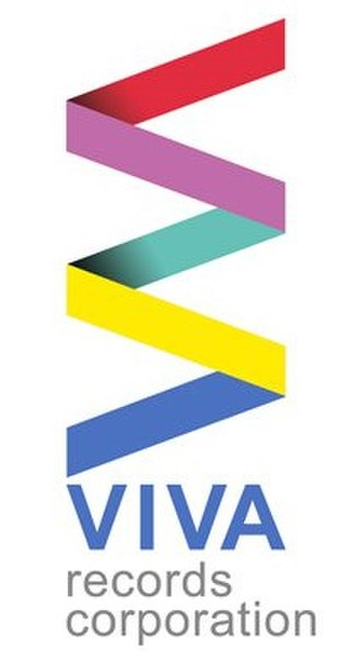 Viva Records (Philippines) - The third Viva Records logo used from 2010 to 2018.