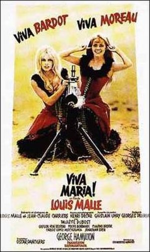 Viva Maria! - Theatrical Poster
