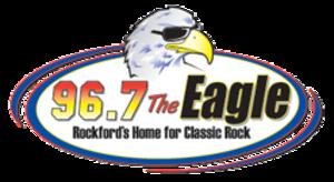 WKGL-FM - Image: WKGL 96.7The Eagle logo