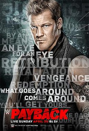 Payback (2017) - Promotional poster featuring Chris Jericho