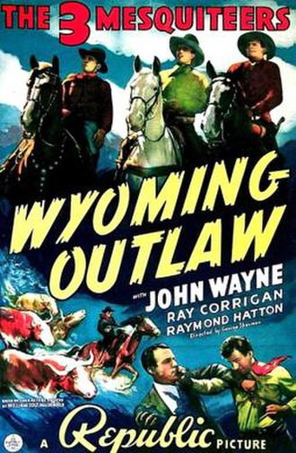 Wyoming Outlaw - Theatrical poster