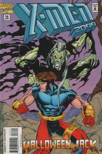 Meanstreak (comics) - Image: Xmen 2099 16