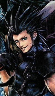 Zack Fair character in Final Fantasy