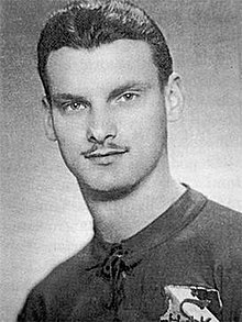 picture of a young man with a thin moustache