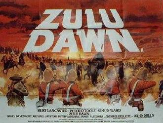 Zulu Dawn - film poster by Tom Chantrell
