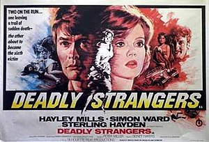 Deadly Strangers - British theatrical poster