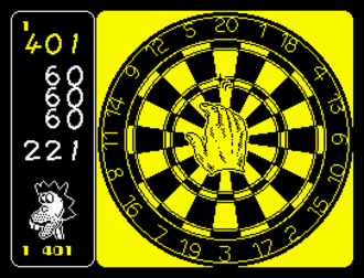 180 (video game) - ZX Spectrum screenshot