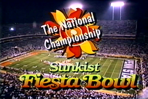 Fiesta Bowl on 1987 Fiesta Bowl   Wikipedia  The Free Encyclopedia