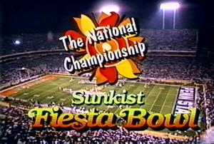 1987 Fiesta Bowl - Image: 1987 Fiesta Bowl Logo