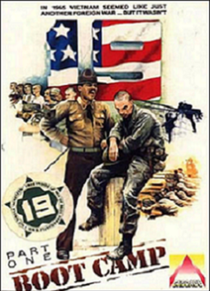 19 Part One: Boot Camp - Commodore 64 Box Art