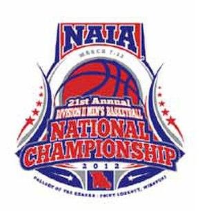 2012 NAIA Division II Men's Basketball Tournament - Logo for the 2012 National Championship