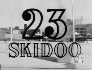 23 Skidoo (film) - title card