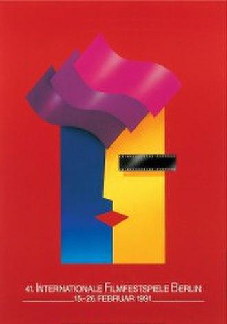 41st Berlin International Film Festival - Festival poster