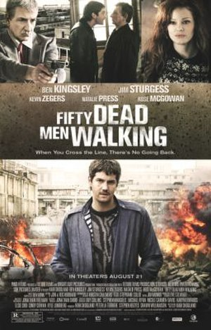 Fifty Dead Men Walking - US poster