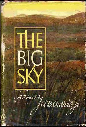 The Big Sky (novel) - First edition cover