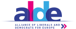 Logo of the ALDE Party