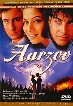 Aarzoo (DVD box art)